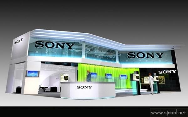 SONY展示厅设计效果图-Sjcool设计酷站